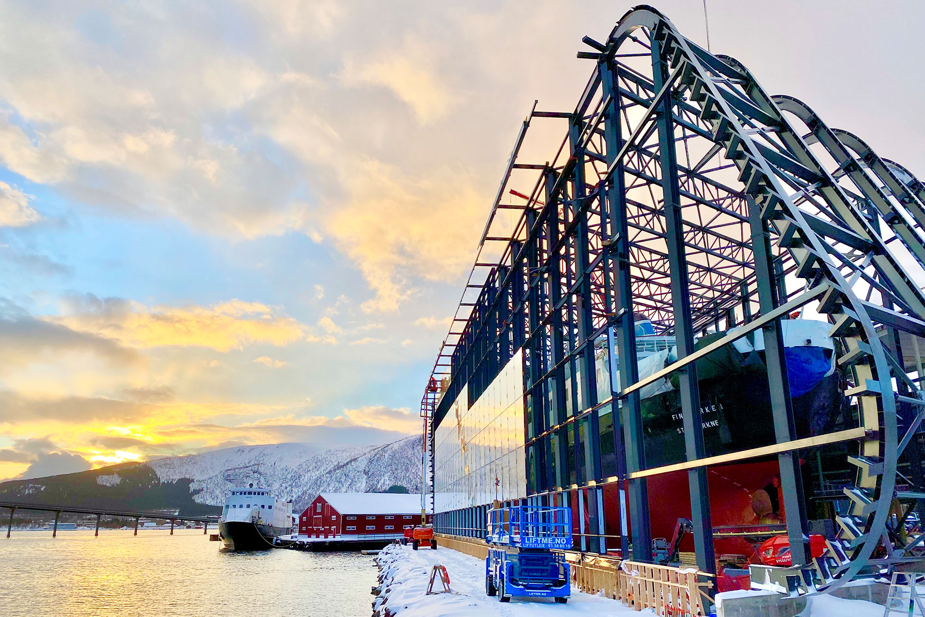 Vernebygget MS Finnmarken