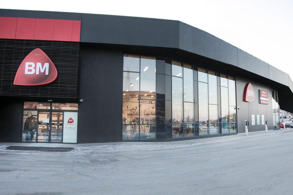 Gunvald Johansen Byggmakker satser på fremtidens byggevarehus i Bodø
