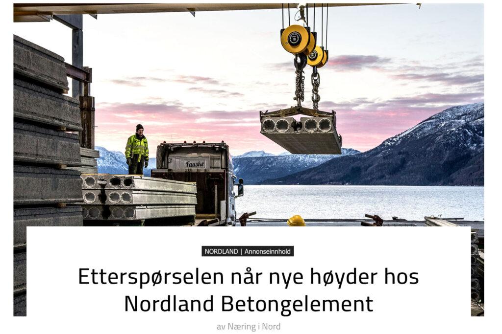 Innholdsartikkel i Magasinet Nordfra