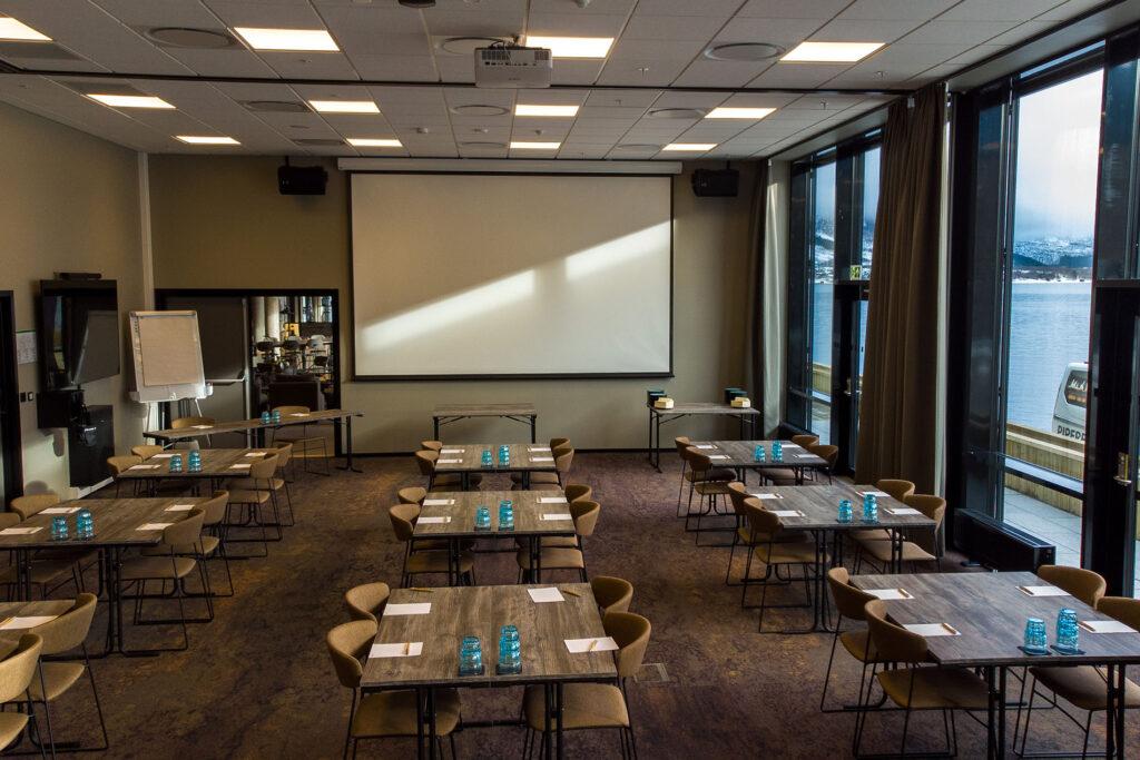 Scandic Sortland er tilrettelagt for møter og konferanser.