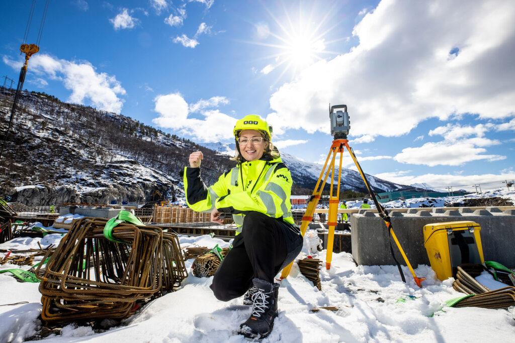 Nye Narvik sykehus har gitt KET bedriftens største oppdrag noensinne, forteller Marie Lindorff hos KET.