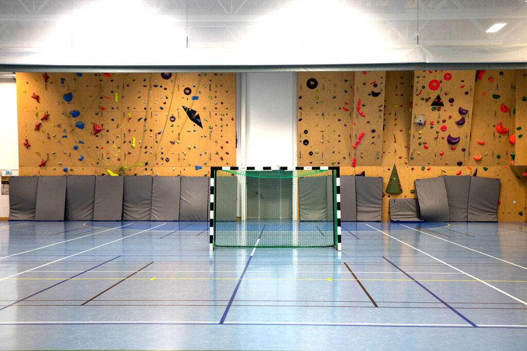 Den renoverte idrettshallen ved nye Skånland skole er klar for å taes i bruk.