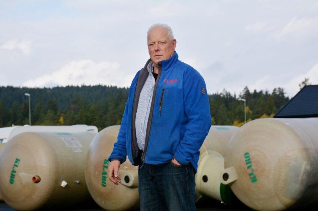 Bjørn Vereide og Klaro Renseanlegg er fornøyd med at stadig flere nordlendinger velger bioteknologisk vannbehandling og fullbiologiske renseanlegg fra Klaro Renseanlegg.