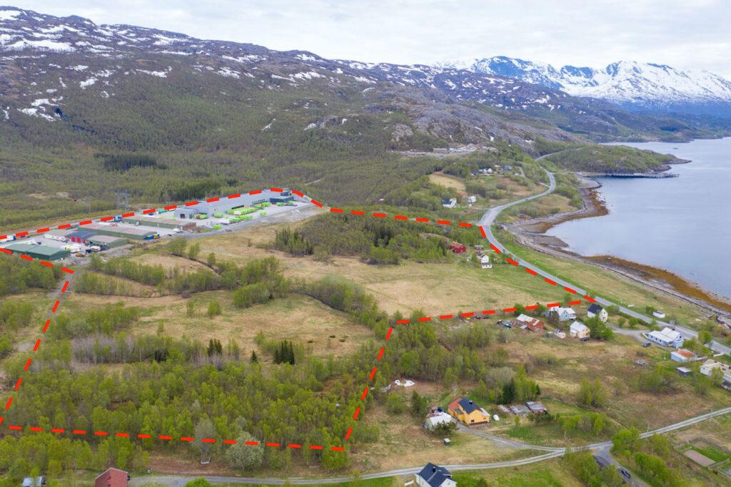 Oversiktsbilde Medby Næringspark. Foto: Barlindhaug Eiendom
