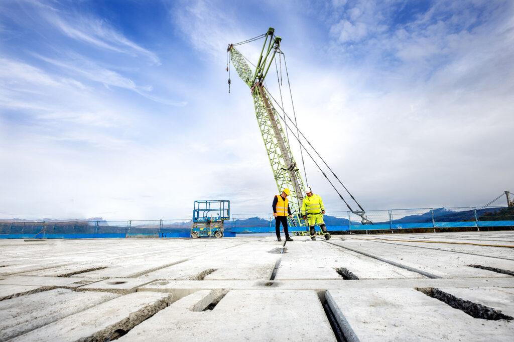 Nordland Betongelement skal levere huldekker til nye Narvik sykehus i tett samarbeid med Element NOR.